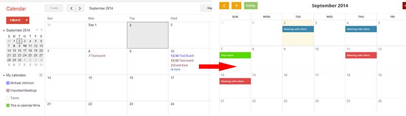 Google Calendar To Wordpress Weblord